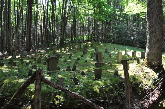 Cosby, TN: Cemetery on Baskins Creek Trail