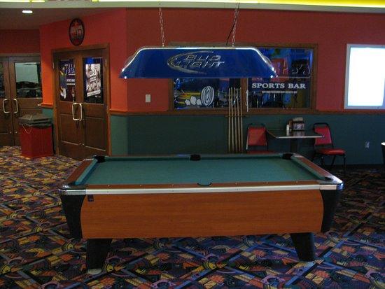 Stocktons Entertainment Pool Table