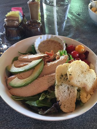 The Farmer : Delicious Cobb salad with huge chunks of chicken.