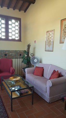 Montespertoli, إيطاليا: Salón