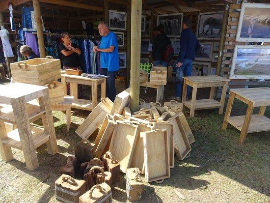 Sedgefield, Sudáfrica: Local woodwork