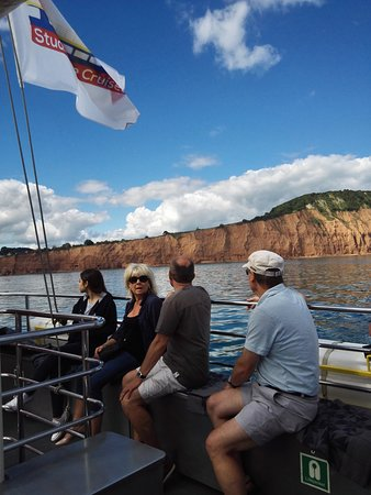 Exmouth, UK: Our fellow passengers on the Sunday trip