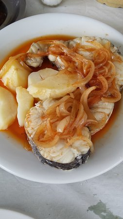 Mondonedo, Spain: merluza a la gallega