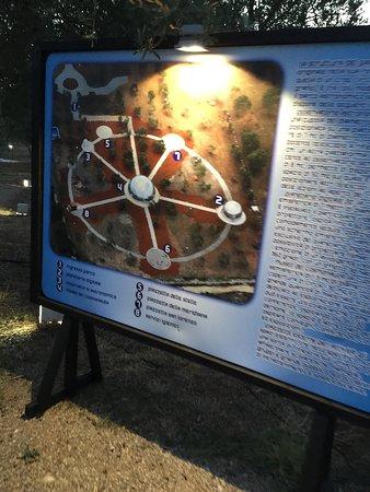 Casarano, Włochy: Ingresso, sala proiezione, telescopi e piantina del sito