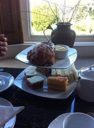 The Cafe - Porlock Weir: Afternoon tea