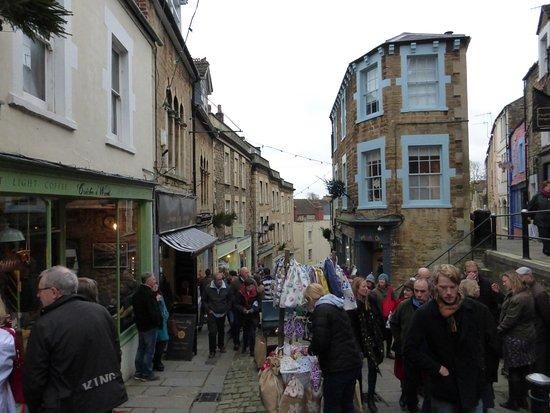 Frome, UK: Sunday Market December 2015