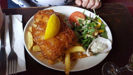 Strandhill, أيرلندا: Fish and chips
