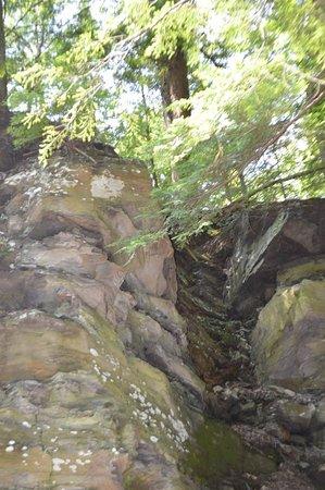 Parc de la Gorge de Coaticook: Circuit de la Gorge