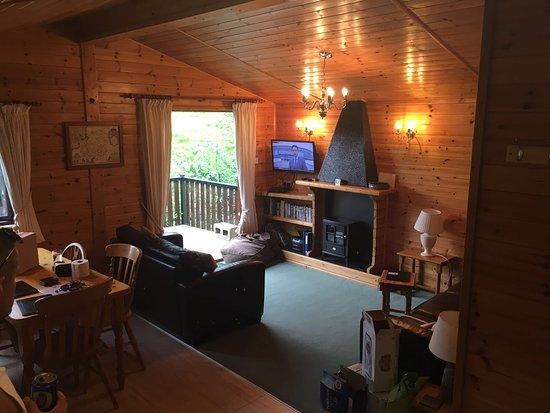 Troutbeck, UK: Living room