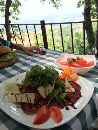 L'indicatore: Bresaola salad - fantastico!!!