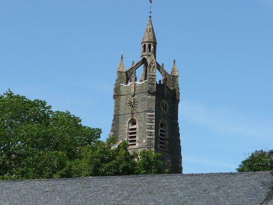 Die Kirche in Tarbert.