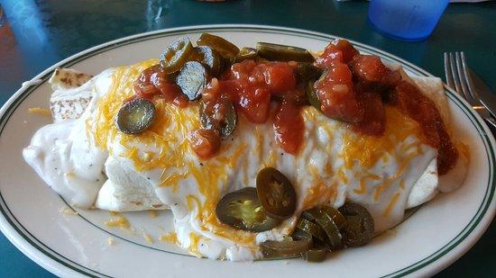Chiloquin, OR: Southern oregon breakfast burrito