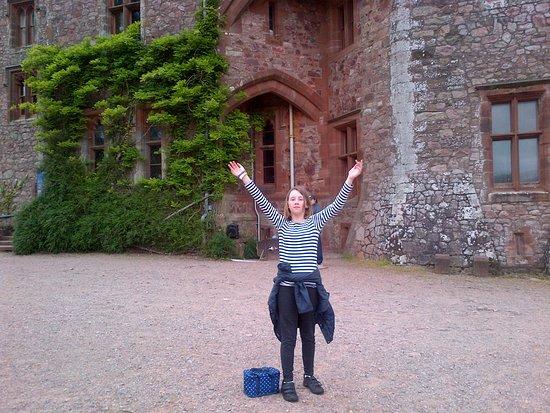 Ravenglass, UK: Castle Front