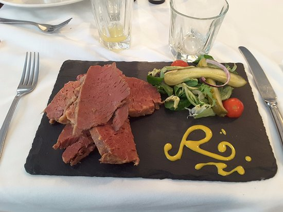Salt Beef With Reubens Signature In Mustard