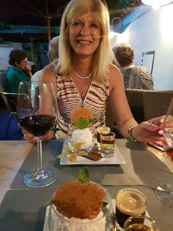 Aarschot, เบลเยียม: Superlekkere chateau briand en als afsluiter een fantastisch dessert