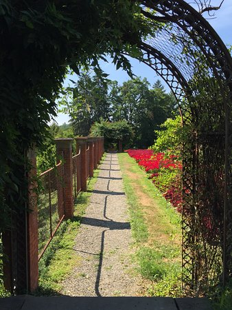 Hyde Park, Nova York: garden walk