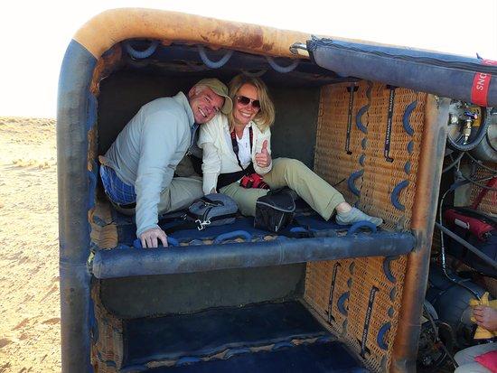 Sesriem, Namíbia: Sport Landing!
