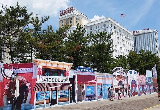 Somers Point, Нью-Джерси: Atlantic City Boardwalk Empire Facade