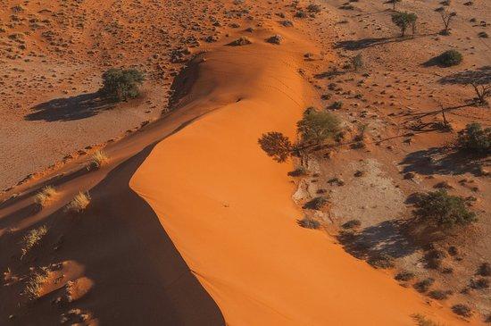 Tsondab Valley Scenic Reserve: bei einem Rundflug über die Namib