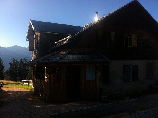 Tiers, Italia: Im Morgenlicht