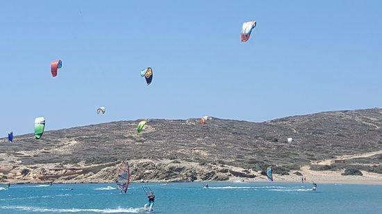 Prassonissi, Grèce : surferparadies