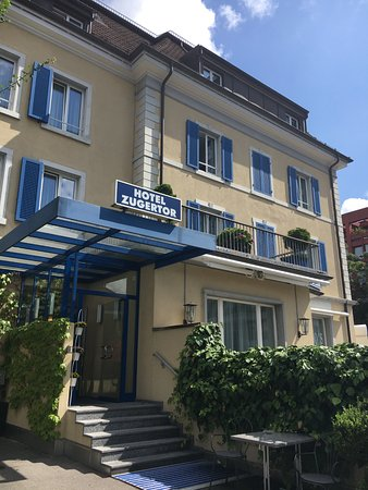 Hotel Zugertor: Attractive Curb Appeal