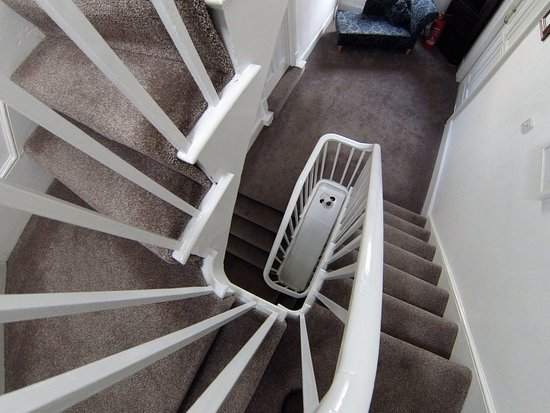 Брекон, UK: Stairs