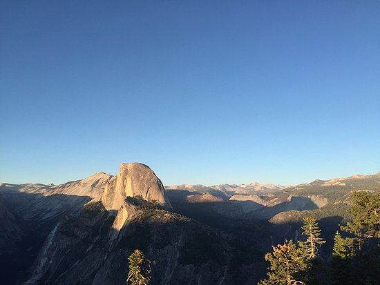 Wawona Campground: OK, not from the room. But Glacier Point!