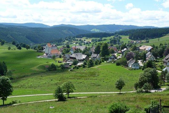 Lenzkirch, Germany: Blick auf den wunderschönen Ort Saig