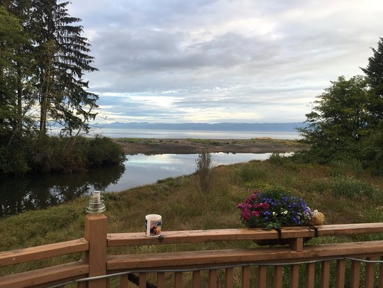 Clallam Bay, WA: view from back deck