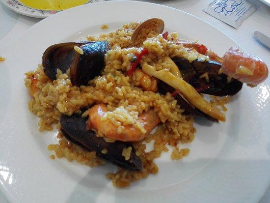 Santoña, España: Paella de marisco