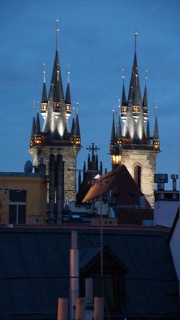 Hotel Paris Prague: Just like a fairytale. According to our guide the idea of the Disney castle came from this.
