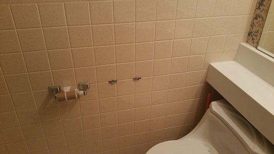 Howard Johnson Inn Hershey: No toilet paper!