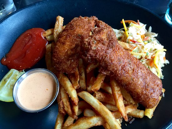 Bernalillo, Nouveau-Mexique : fish & chips