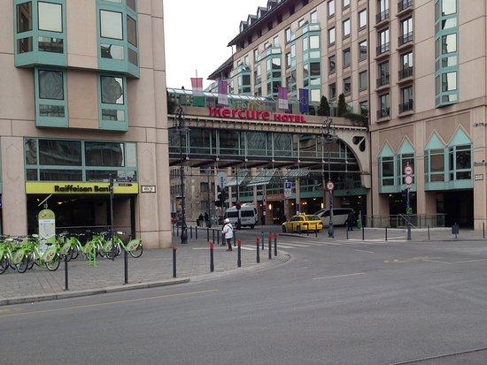 布達佩斯克洛納水星酒店照片