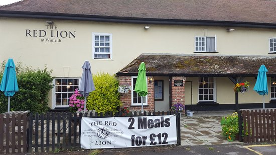 Winfrith Newburgh, UK: Red Lion Winfrith