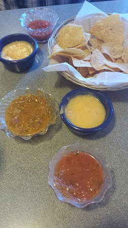 Perry, OK: Mexican Unique and salsa and chips