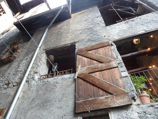 Guillestre, Francia: vanaf de buitenkant de eerste verdieping