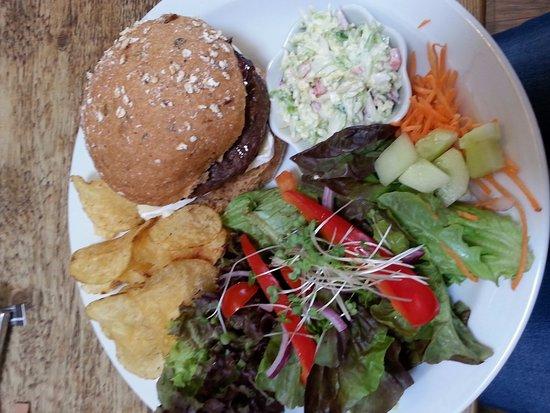 Forres, UK: Venison burger