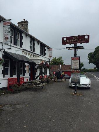 Hallatrow, UK: The Old Station Inn