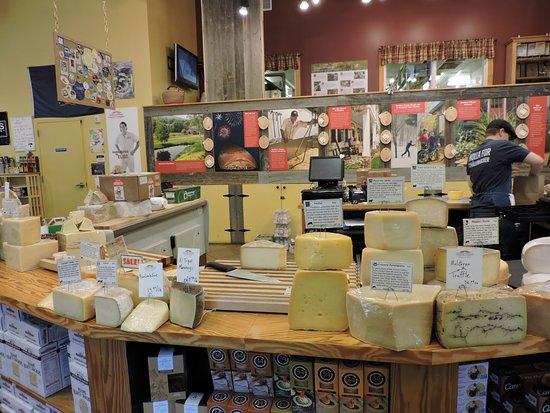 Brattleboro, VT: Cheese Selection
