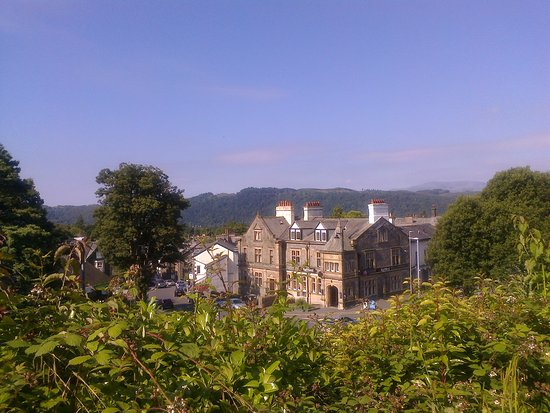 The Windermere Hotel: View from my room