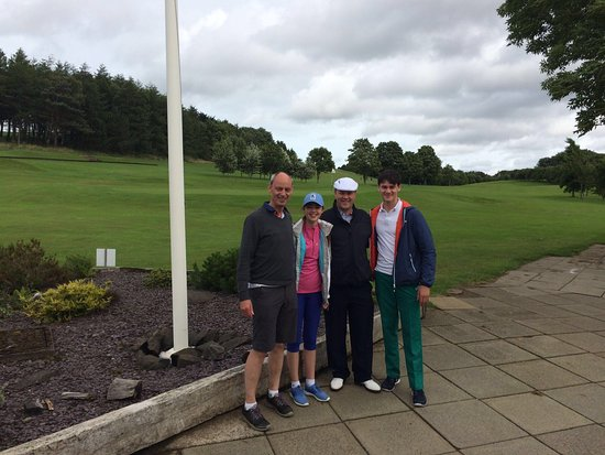 Turnhouse Golf Club: All smiles after a successful lesson