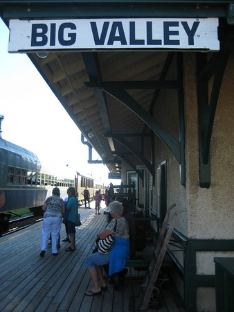Big Valley Train Station Platform