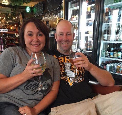 Mount Dora, FL: me and wife
