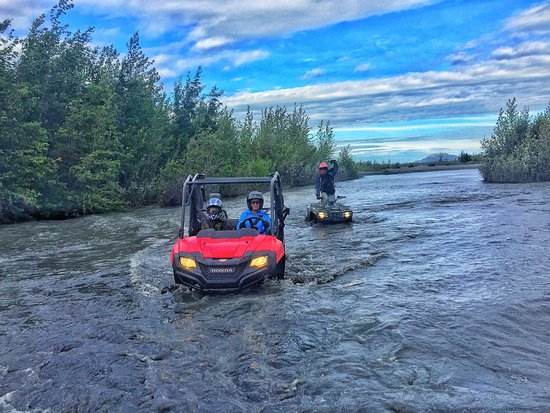 Palmer, AK: loving the water crossings