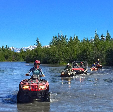 Palmer, AK: having fun in the water