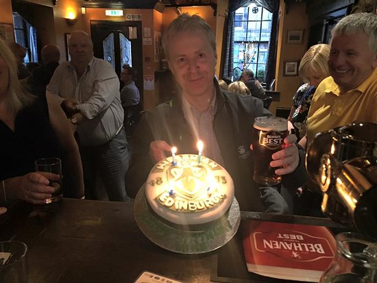 Linlithgow, UK: Birthday Celebrations