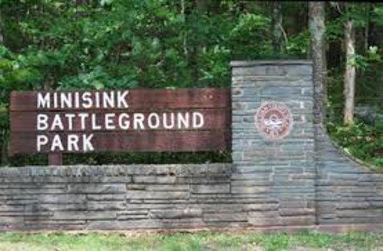 Barryville, estado de Nueva York: Minisink sign