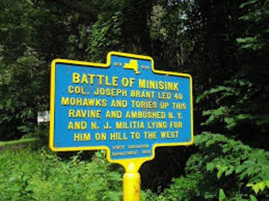 Barryville, estado de Nueva York: Historical sugn